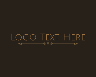 Minimalist - Classical Minimalist Wordmark logo design