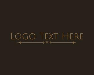 Classic - Classical Minimalist Wordmark logo design
