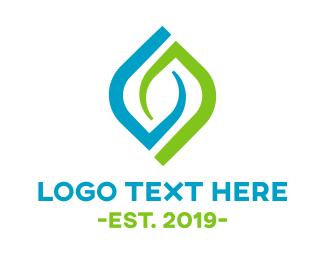 Eco Energy - Organic Leaf logo design