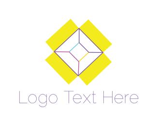 Container - Yellow Box logo design