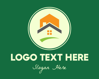 House And Lot - Modern House And Lot logo design