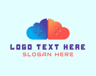 Game Store - Gaming Cloud logo design