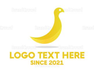 """""""Banana Bird"""" by shad"""