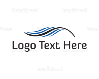 Feather - Blue Feather logo design