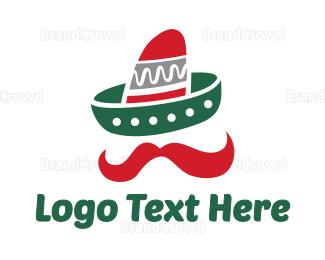 Hat - Mexican Hat logo design