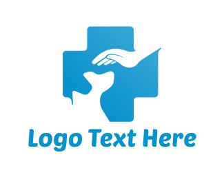 Health Care - Dog Hospital logo design
