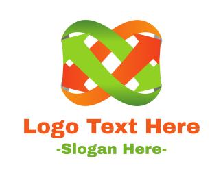 Loop - Arrow Loop logo design