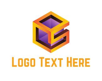 3d Printing - S Cube logo design