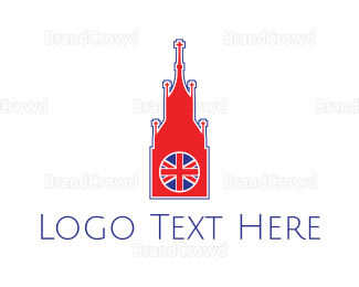English - Big Ben London logo design