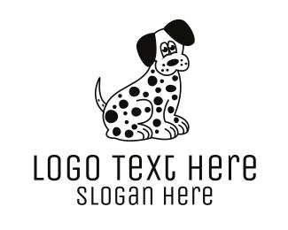 Spot - Dalmatian Dog logo design