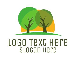 Tree - Green Tree Park logo design