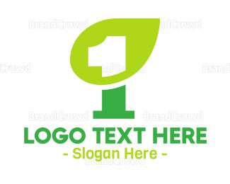 Renewable - Nature Leaf Number 1 logo design