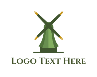 Dutch - Educational Mill logo design