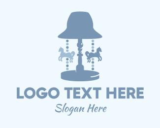 Lamp - Carousel Lamp logo design