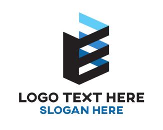 Architecture - Architectural Letter E logo design