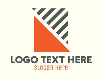 Stripes - Triangle Stripes logo design