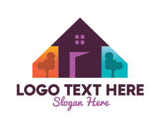 Family - Colorful Family Home  logo design