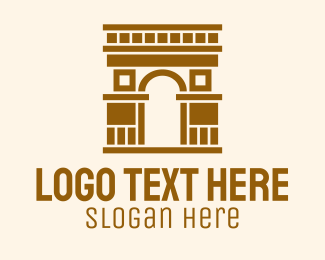 Landmark - Classic Arc Landmark logo design