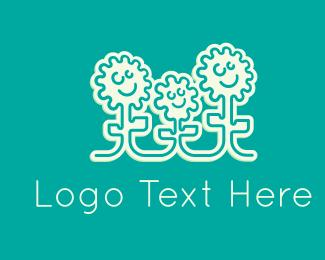 Family - Flower Family logo design