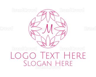 Beauty - Beauty Wellness Lettermark logo design