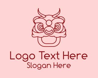 Asia - Asian Dragon Mascot logo design
