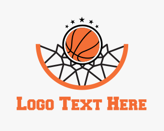 Basketball Hoop Logo Maker