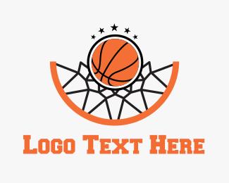 Champion - Basketball Hoop logo design