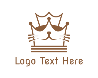 Kitten - Kitten Queen logo design