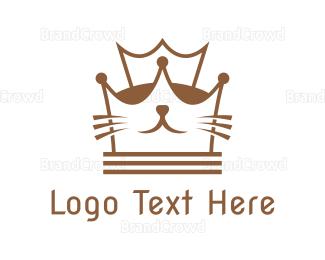 Pet Care - Kitten Queen logo design