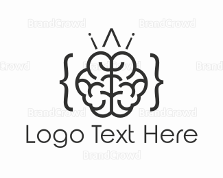 Web Design - Brain Code  logo design