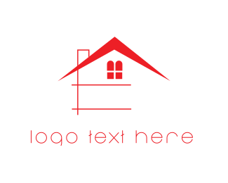 Window - Red House logo design