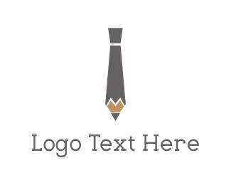 Consultant - Pencil Tie logo design