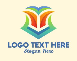 Sigil - Colorful Tropical Shield  logo design