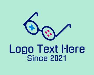 Glasses - Gaming Glasses logo design