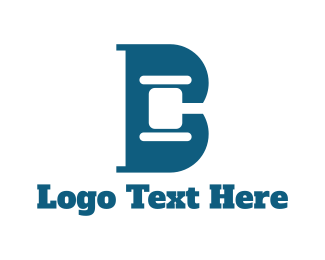 Hammer - Legal Letter B logo design