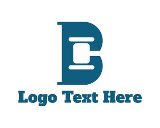 Hammer - Legal Letter B logo design