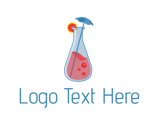 Lemonade - Cocktail Lab logo design