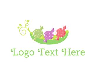 Sweet - Sweet Peas logo design