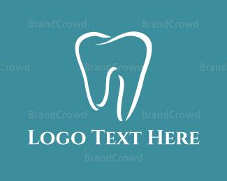 Dentistry - White Tooth logo design
