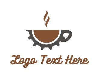Mechanical - Gear Cafe logo design