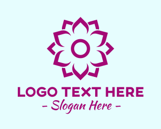 Lotus Flower - Meditation Lotus Flower logo design