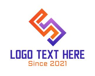 Venture - Abstract Letter S logo design
