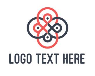 Loop - Loop Flower logo design
