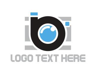 Paparazzi - Photography B logo design