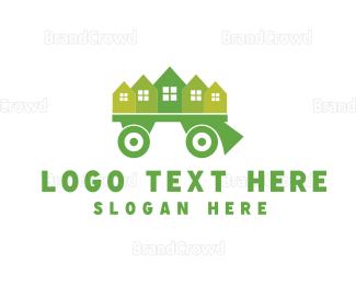 Neighborhood - Moving Truck logo design