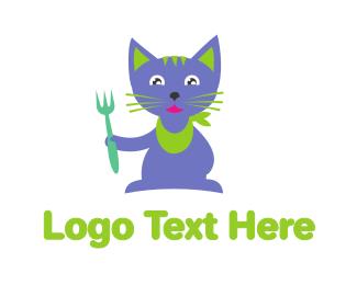 Kitty - Cat Food logo design