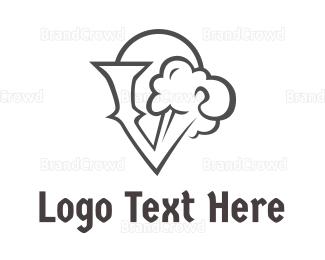 Activity - Black Cloud V logo design