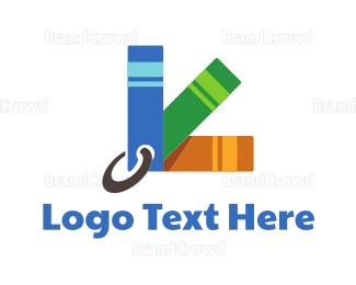 Bookshop - Sample Book logo design