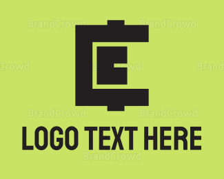 Money - Strong Cryptocurrency Letter C logo design