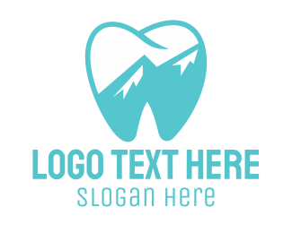 Endodontics - Blue Tooth logo design